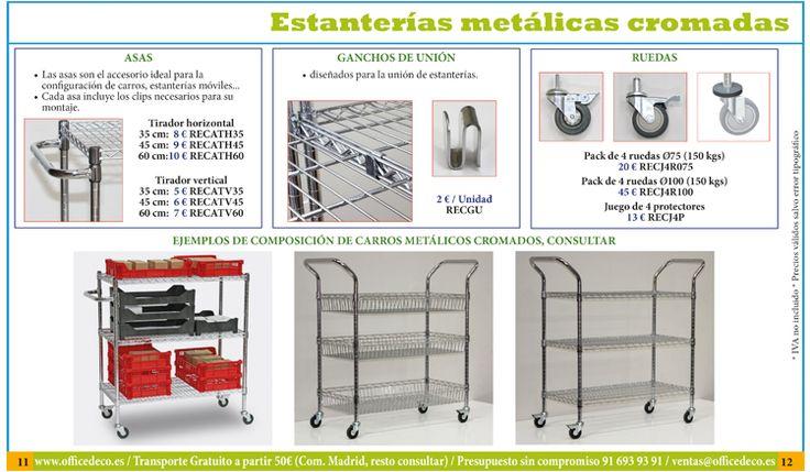 Imagenes de estanterias metálicas | Muebles y sillas de oficina.