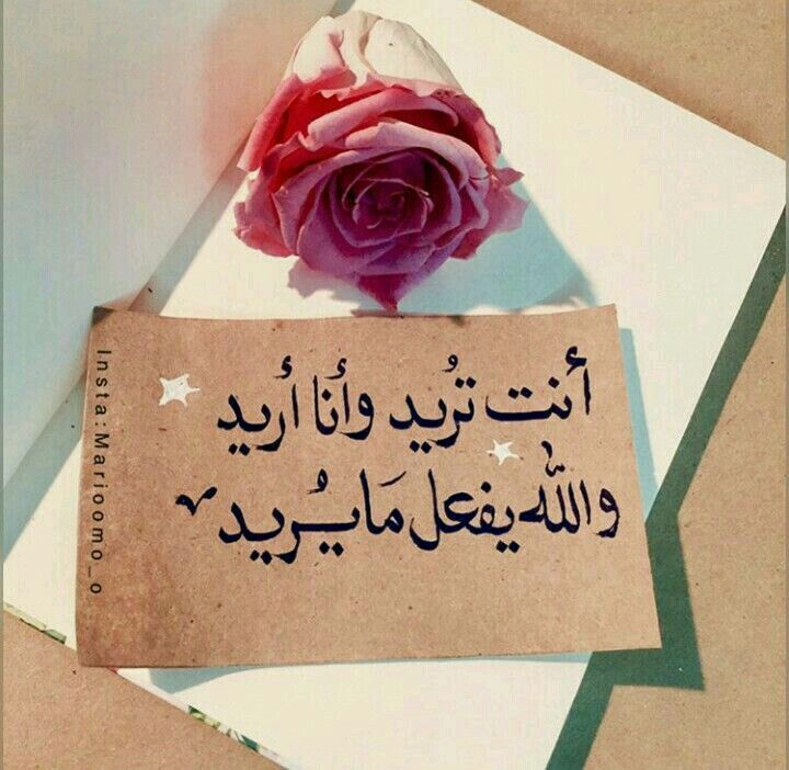 أنت تريد وأنا أريد والله يفعل ما يريد Muslim Quotes Glass Nails Quotes