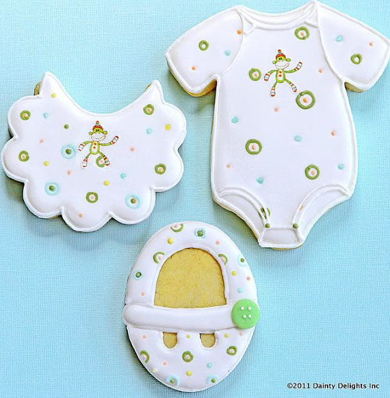 341 Best Images About Cookies-Baby/Baby Shower On