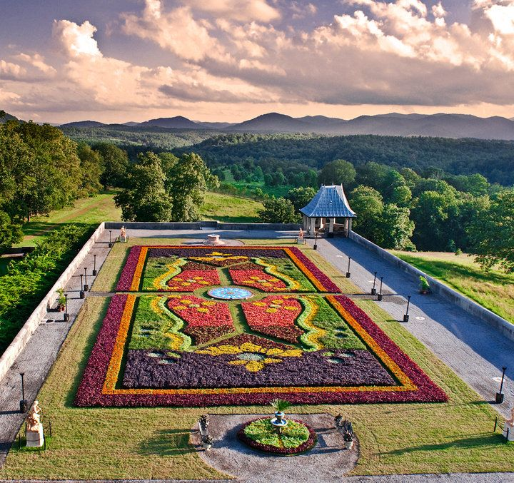 Carpet Of Flowers At Biltmore House Biltmore House Pinterest Carpets Flower And I Miss You