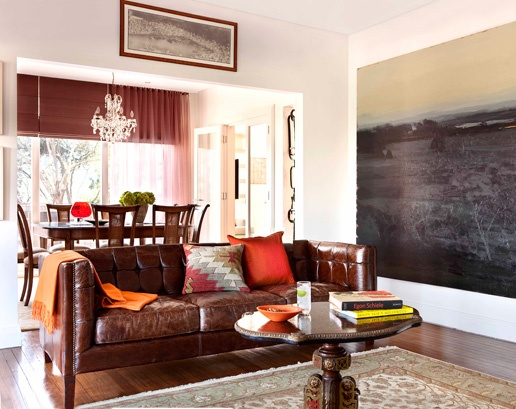 19 best Fun Ways To Accessorize Your Leather Furniture - Get ...