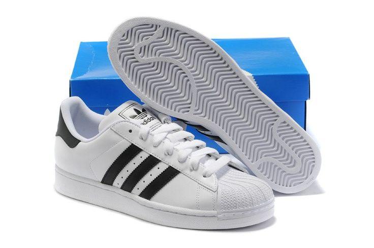c8043178389 ... zapatillas adidas superstar 2 g17068 blancas negras