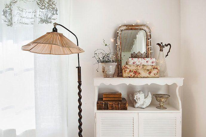 Bilder, Hall, Byrå, Romantiskt, Vitt - Hemnet Inspiration