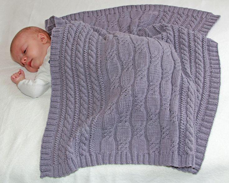 Babydecken - Strickanleitung Babydecke Feenland - 60x70 cm - ein Designerstück von BellaLottta bei DaWanda
