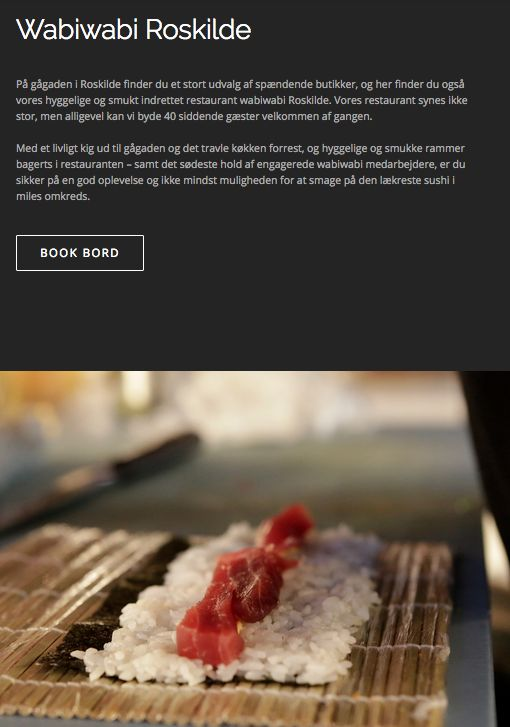 Wabi Wabi Sushi Roskilde #sushiroskilde #sushi #wabiwabi