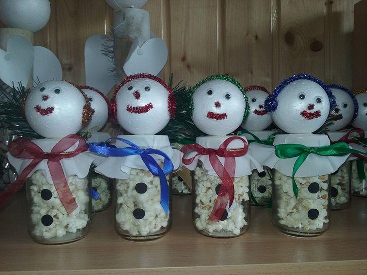 Karácsonyi hóemberek