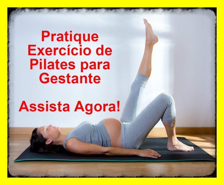 Exercicio de pilates para gestante - Dicas para praticar pilates em casa