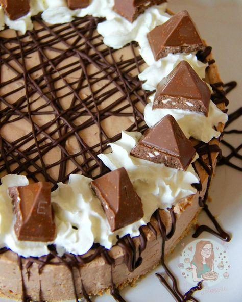 NoBake Toblerone Cheesecake!  Recipe on my blog link inhellip