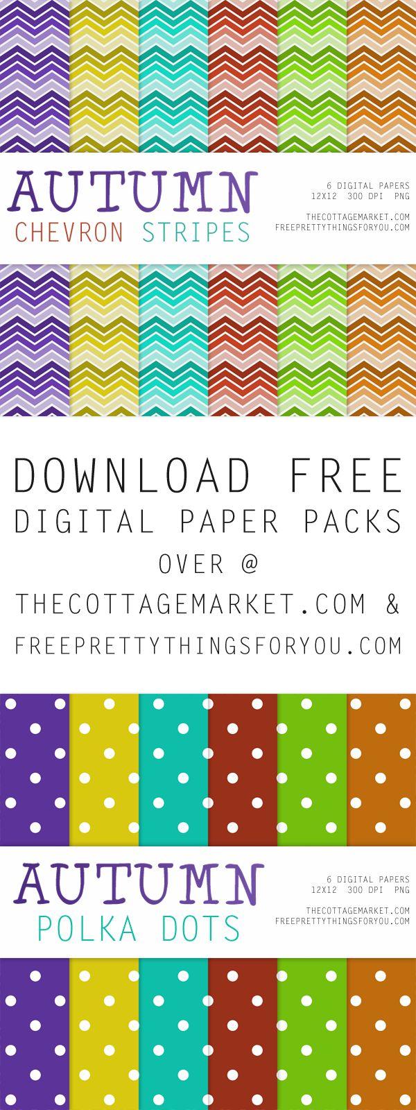 Scrapbook paper designs download - Free Autumn Digital Scrapbooking Paper Packs Part 1 The Cottage Market Fallpaperpack