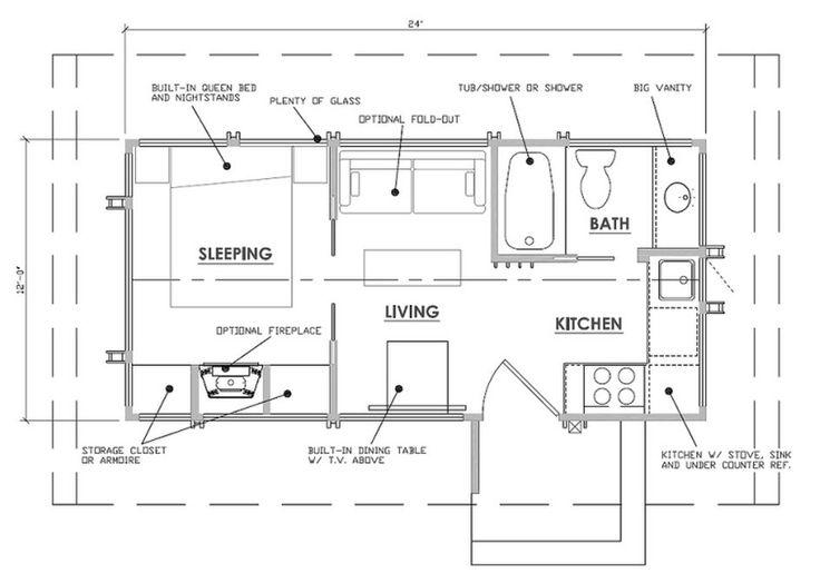 Las 25 Mejores Ideas Sobre Planos De Casas De Madera En