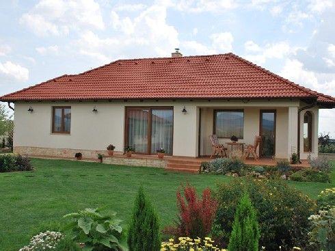 Kulcsrakész házak Pest megyében - Családi ház építés - Generálkivitelezés - Porotherm Mesterház Minősítés: Refer