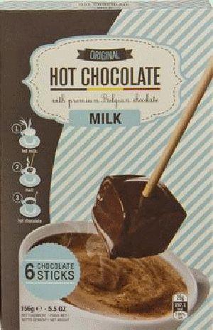CC DRINK Milk chocolat chaud en sticks 156gr