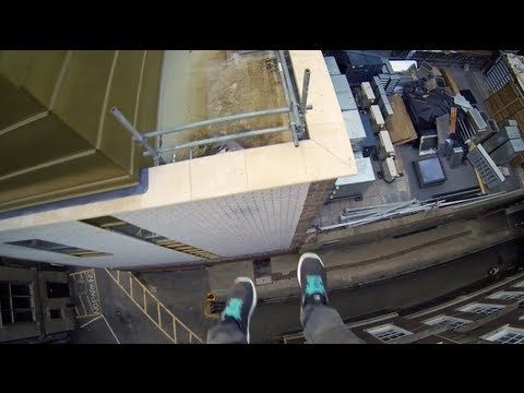 "Jaw-Dropping POV Video Lets You Experience Parkour Vicariously. JAMES KINGSTON ""went to Cambridge"" Cambridge, UK"