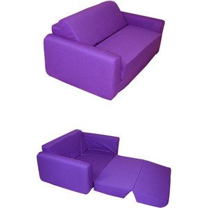 Flexsteel Sofa Kids Sofa Sleeper Purple