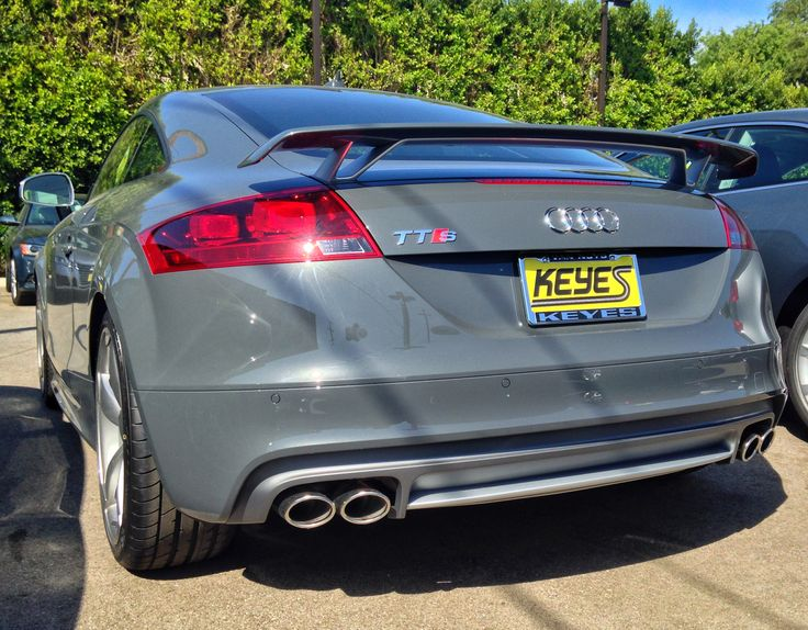 1000 Images About 2015 Audi Tts In Nimbus Gray Pearl