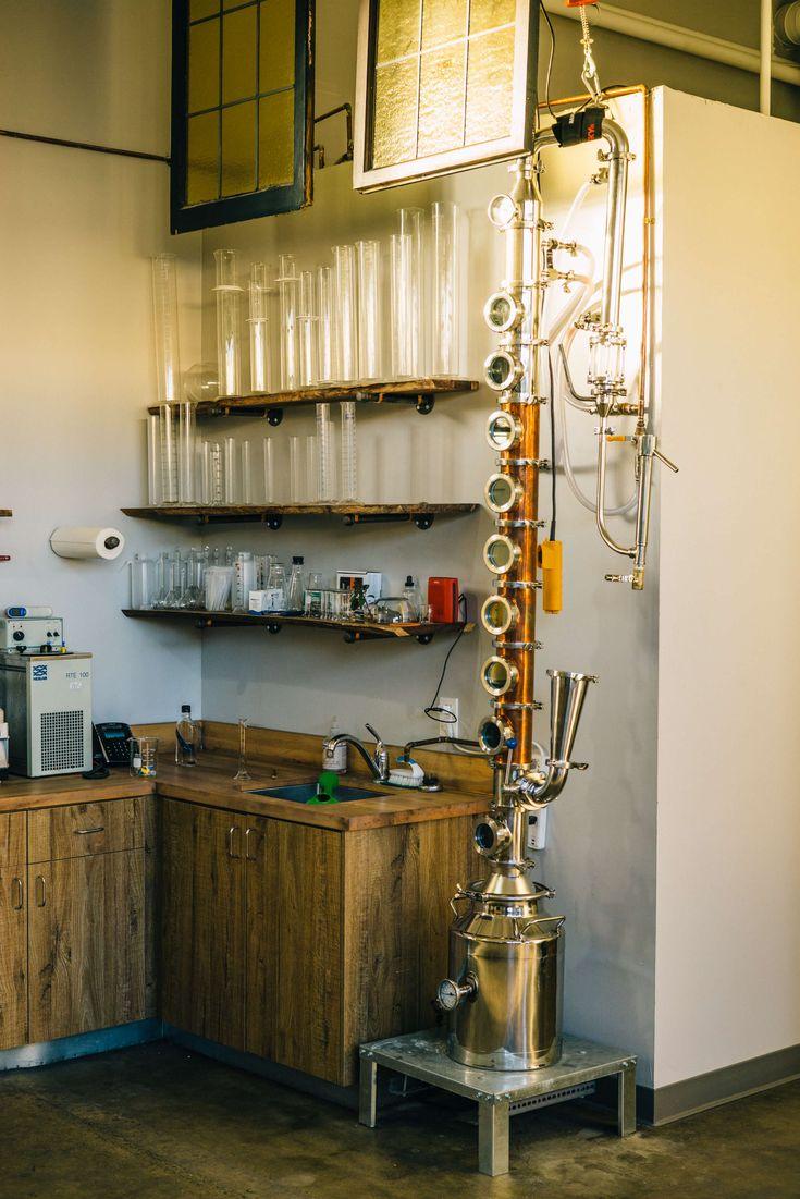 Testing Still - The Taste SF tours and tastes at Hangar 1 Vodka Distillery in Alameda