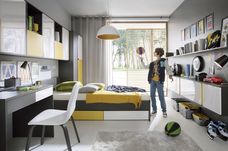Graphic - Black Red White #youthroom #childsroom #inspiration #youth #child #ideas #decorations #bedroom