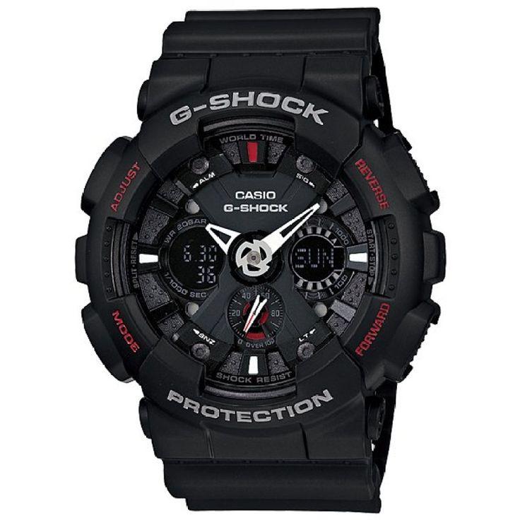 Hot Product<SP>CASIO G-SHOCK GA-120-1ADR (สีดำ)++CASIO G-SHOCK GA-120-1ADR (สีดำ) (14 รีวิว) 3,390 บาท -57% 7,900 บาท ช้อปเลย ...++