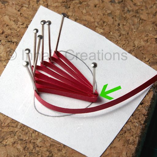 How to make quilled poppiesquilled-5