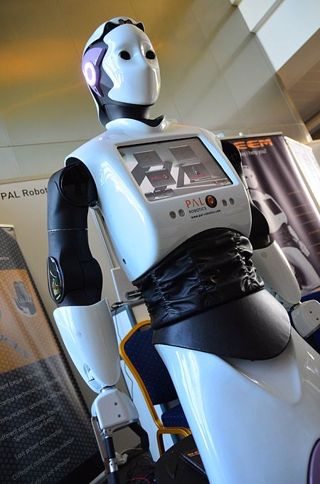 REEM, the humanoid service robot created by PAL Robotics