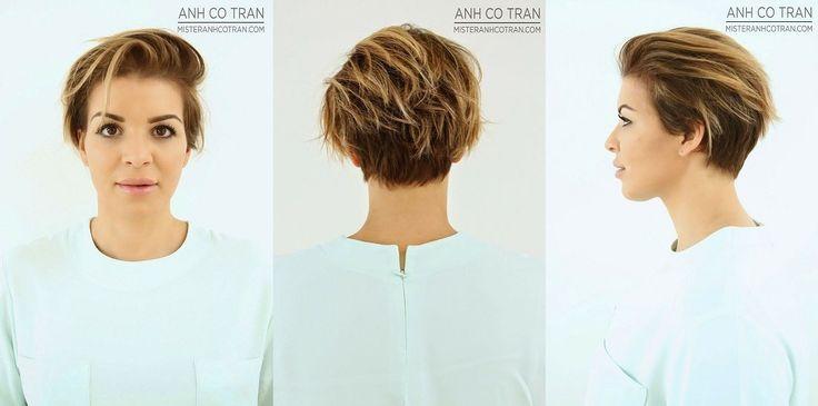 Trendy korte kapsels najaar 2014: foto's van voor- achter- en zijkant!!
