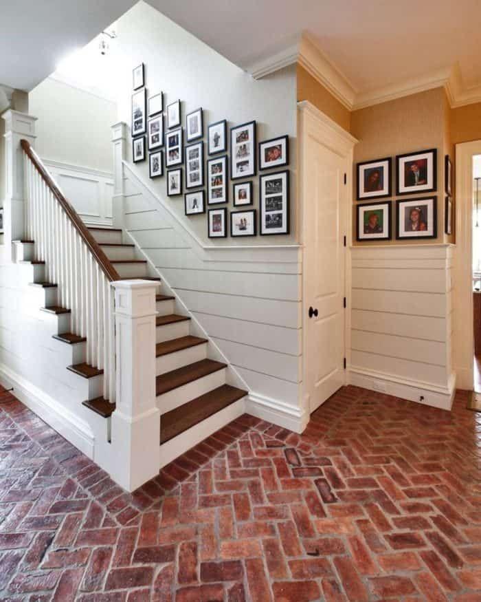 Brick Floor Care Tips Home House Brick Flooring