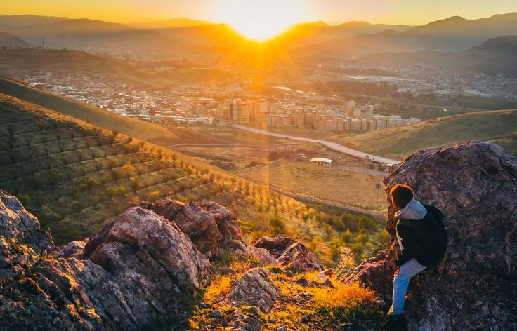 Toward the sunset in Mahabad, Kurdistan by Aziz Nasuti on 500px