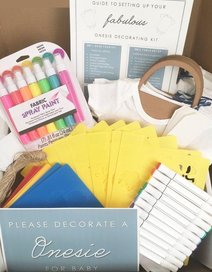 'Le Petit' Onesie Decorating Kit