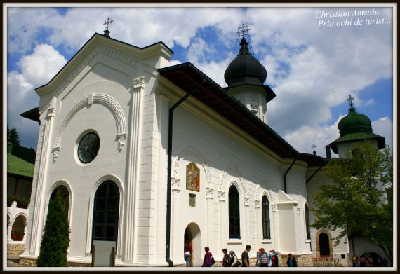 "One of the monasteries of Moldova is ""Agapia"", and is in fact represented by 2 sites. The new church, special for it's unique frescoes painted by the famous Nicolae Grigorescu, and the old site, special for it's hideout away from the world in the woods… Both are amazing, and both must be visited."