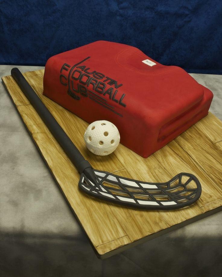 Floorball Birthday Cake