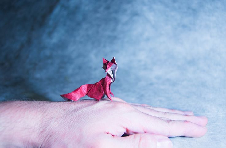 Origami Fox by Masamune81
