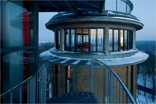 building water tower in Germany