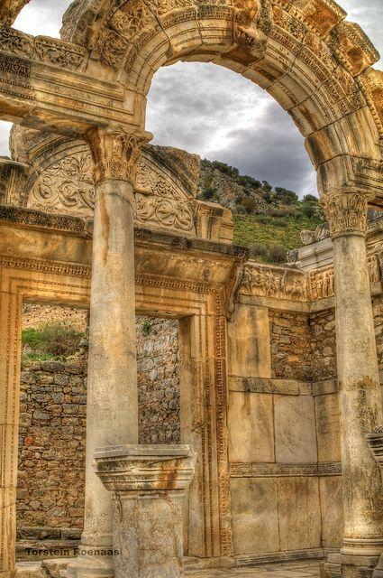 Temple of Hadrian - Ephesus - Turkey
