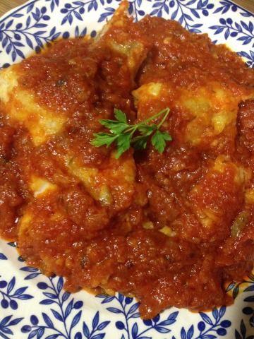 Bacalao con tomate tradicional