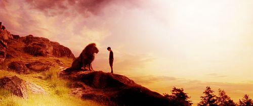 Edmund and Aslan.  Forgiveness.