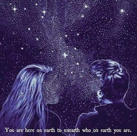 Cosmic stardust and wisdom beyond all imagining- TAH