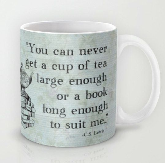 For C.S. Lewis fans. | Community Post: 23 Super Cute Mugs Every Book Nerd Will Love