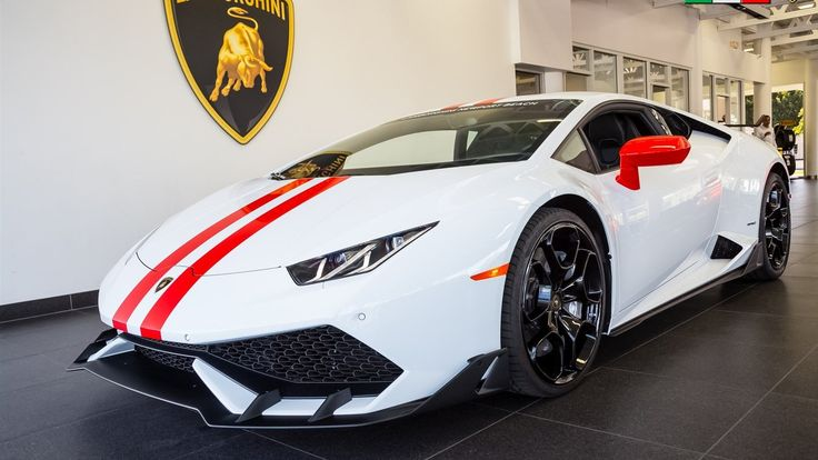 Lamborghini's Own Aero Package for the Huracan Out In The Open