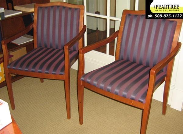 Gunlocke Cherry Side Chairs