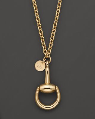 gucci horsebit yellow gold necklace Love It!!!!