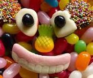 A lolly mix with ALLEN'S Teeth.. Freckles.. Jelly beans!