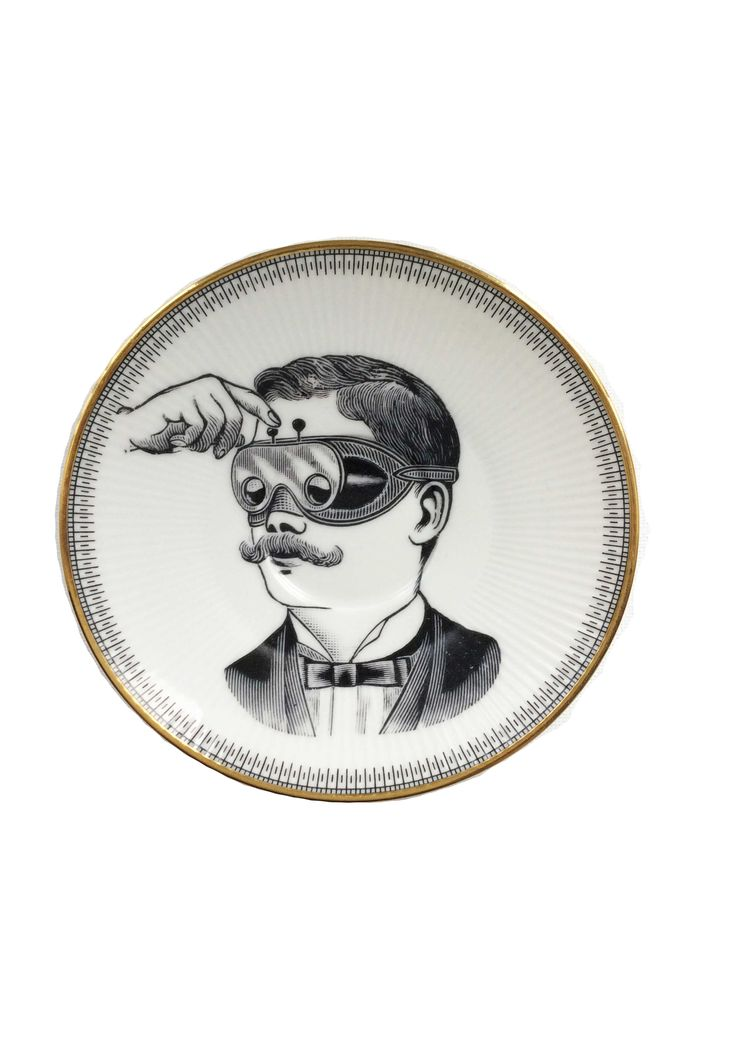 Vintage borden - Spotted on Milledoni