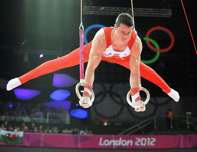 Team GB gymnasts Londo 2012 Olympics Kristian Thomas