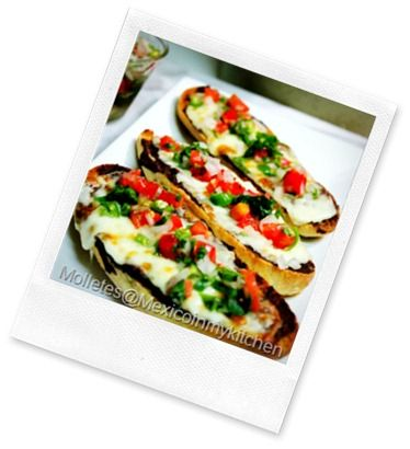 MOLLETES | Latin Cuisine | Pinterest