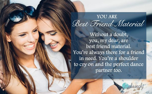 I got You're Best Friend Material. Are you a good friend or aren't you? - Quiz