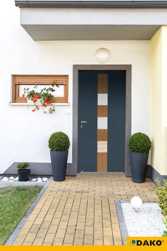 drzwi zewnętrzne aluminiowe, model FOTYNA, drzwi wejściowe