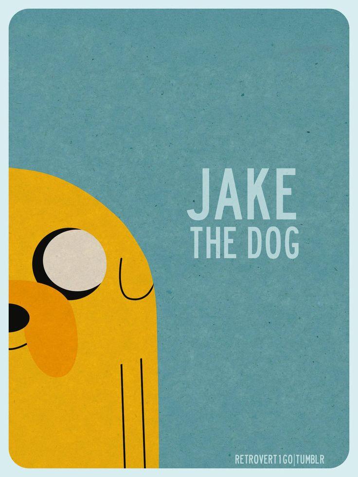 Hora de aventura - jake el perro