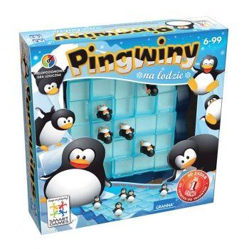 Gra logiczna Granna - Pingwiny na lodzie