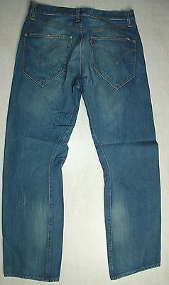 LEVIS RED TAB ENGINEERED 11131 TWISTED FADED BLUE BUTTON W34 L32 33