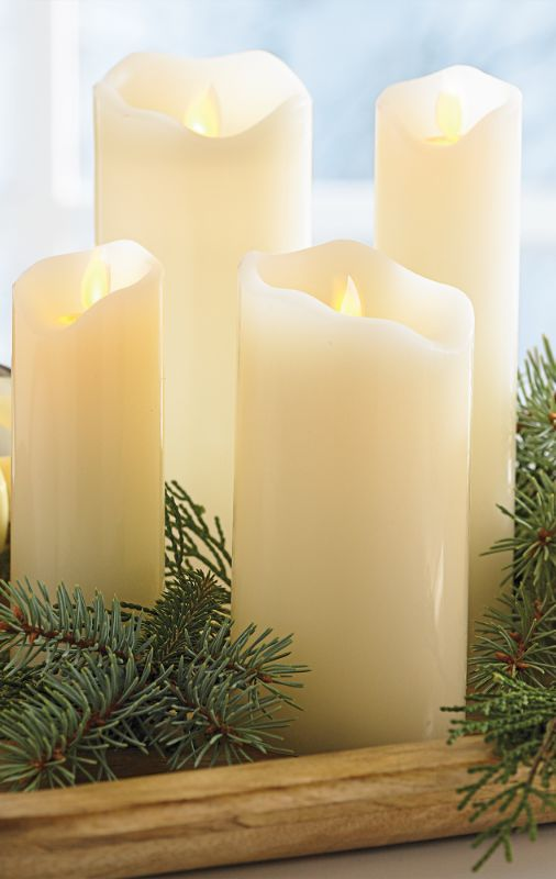 Thanks to patent-pending moving flame technology, our Motion Flame Battery-operated Candles are, quite possibly, the most realistic we have ever encountered.